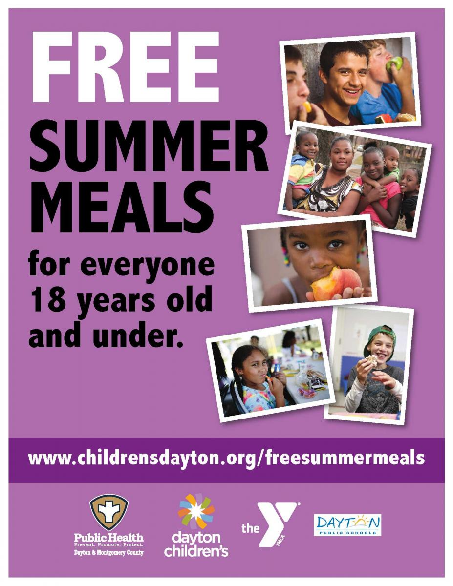 free summer meal program | Dayton Children's