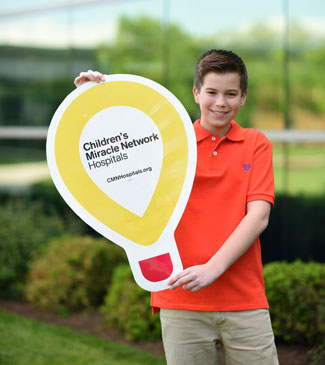 Zach Children's Miracle Network