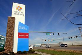 Dayton Children's South campus Springboro