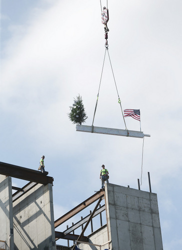 raising the tower beam